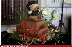 hilarious wedding cake ideas