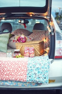 date night car ride camping trip anniversary ideas