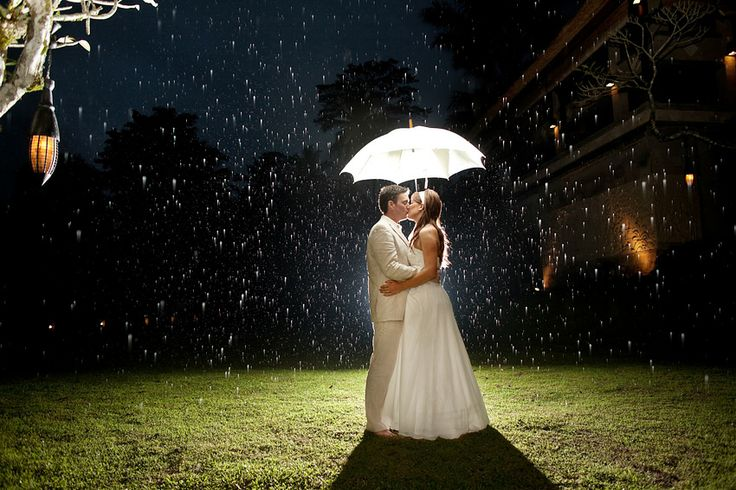 What to do if it rains on your wedding day?