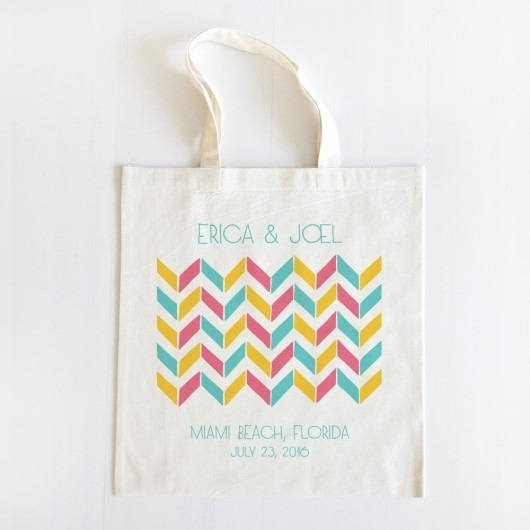 Personalized Tote Bag for your wedding