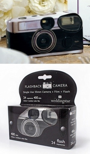 disposable cameras for wedding tables at reception - awesome and creative gifts for wedding guests