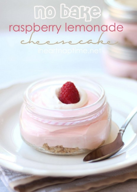no bake rasberry lemonade cheesecake is the perfect diy wedding desert