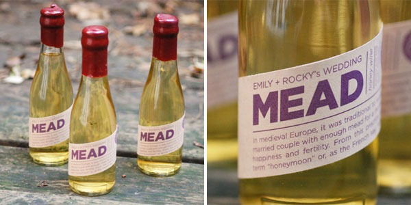 mead is the best thing ever - awesome and creative gifts for wedding guests