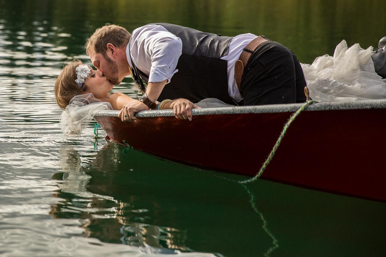 Kamloops / Barriere Wedding - Joel & Tami - Johnson Lake Resort