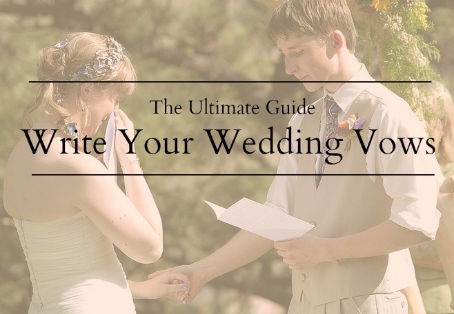 writing wedding vows examples  · you and your partner should both be on board with writing personalized vows find examples of wedding vows your spouse will absolutely love.