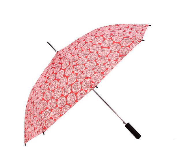Colorful Wedding Umbrellas from Ikea! Knalla Umbrella - Red and White - 3.99 - item no 60282313