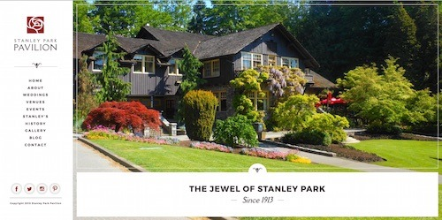 Stanley Park Pavilion - Lower Mainland Wedding Venue