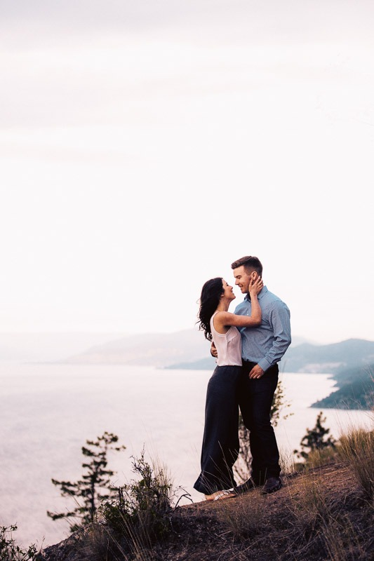 Knox Mountain Engagement Photos - Tailored Fit Photography Kelowna-0085