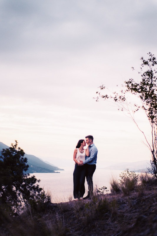 Knox Mountain Engagement Photos - Tailored Fit Photography Kelowna-0137