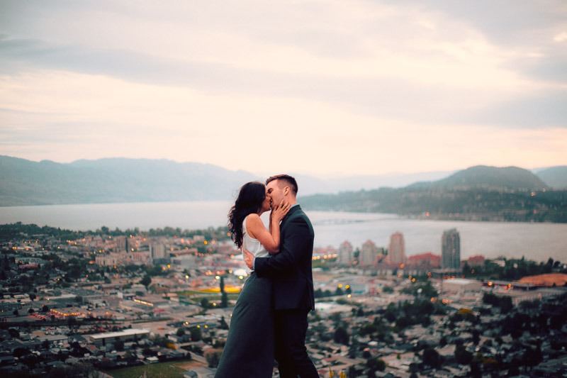 Knox Mountain Engagement Photos - Tailored Fit Photography Kelowna-0140