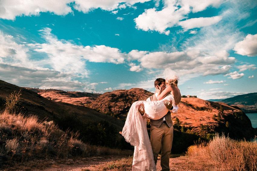 Canada Destination Wedding Photography Okanagan Landscape