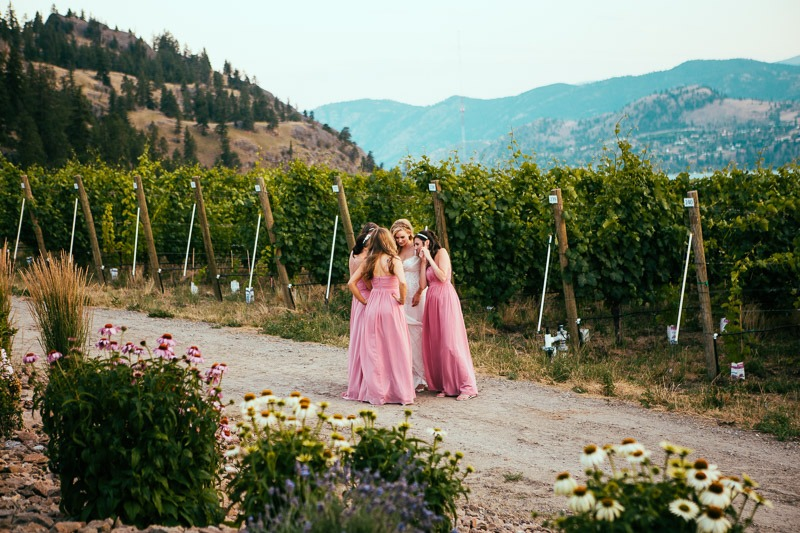 Painted Rock Winery Wedding - Photographed by Kelowna Wedding Photographers Tailored Fit Photography