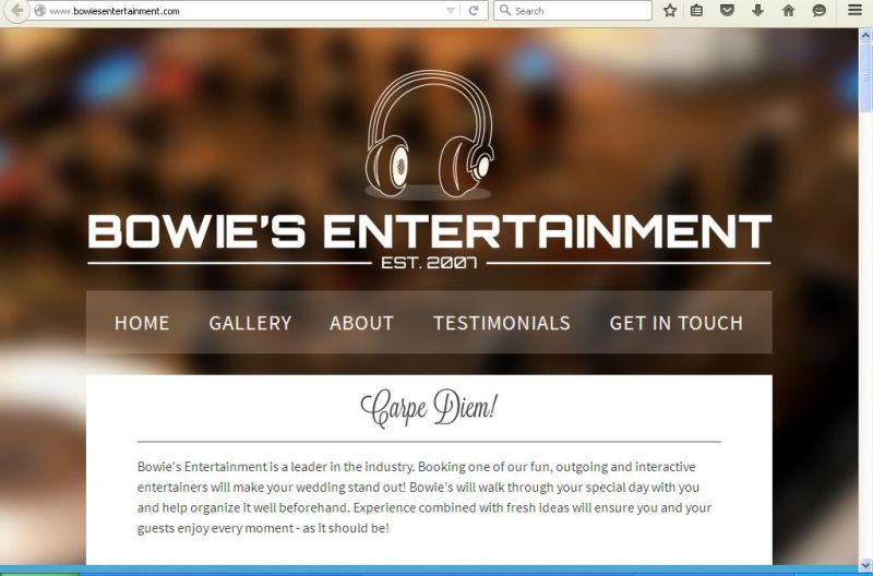 Bowies Marketing & Entrtn