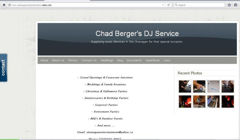 Chad Berger's DJ Service