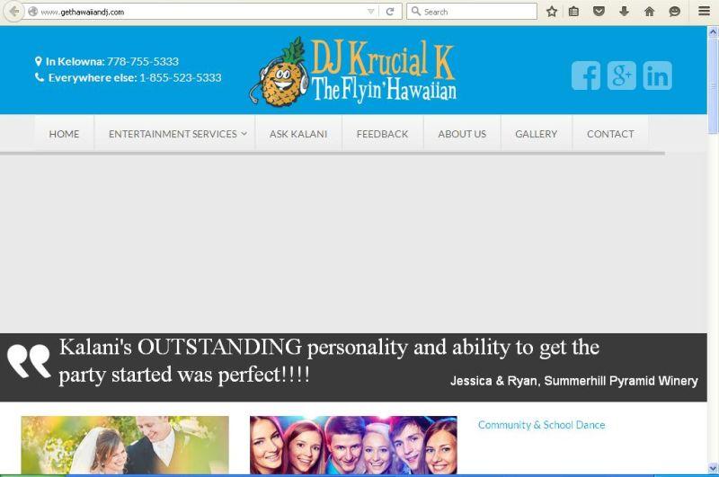 DJ Krucial K ( Kalani )Flyin Hawaiian
