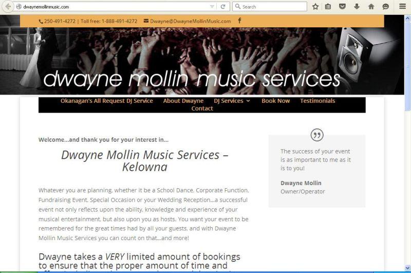 Dwayne Mollin Music Services