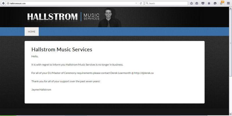 Hallstrom Music Service