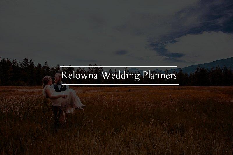 Find Your Kelowna Wedding Planner!