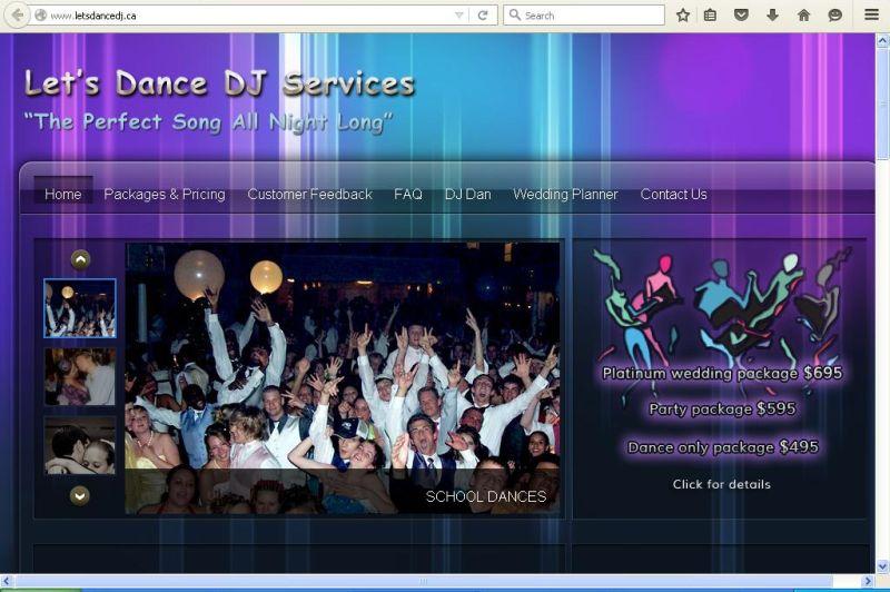 Let's Dance DJ Services