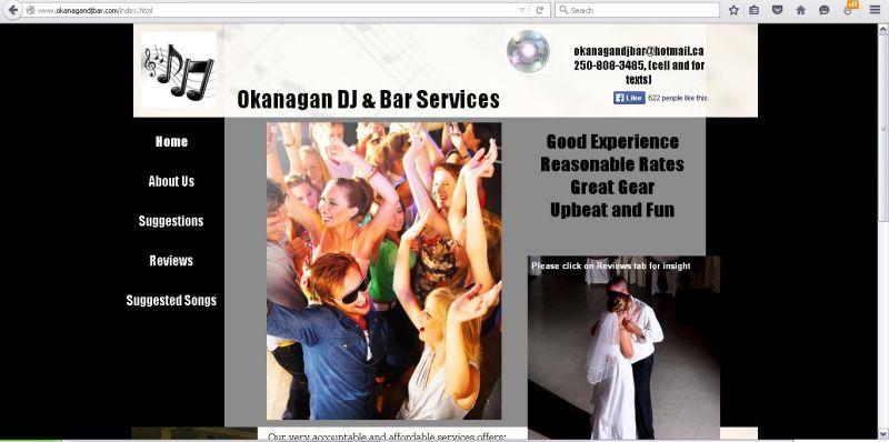Okanagan DJ & Bar Services