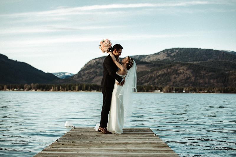 Shuswap British Columbia Wedding