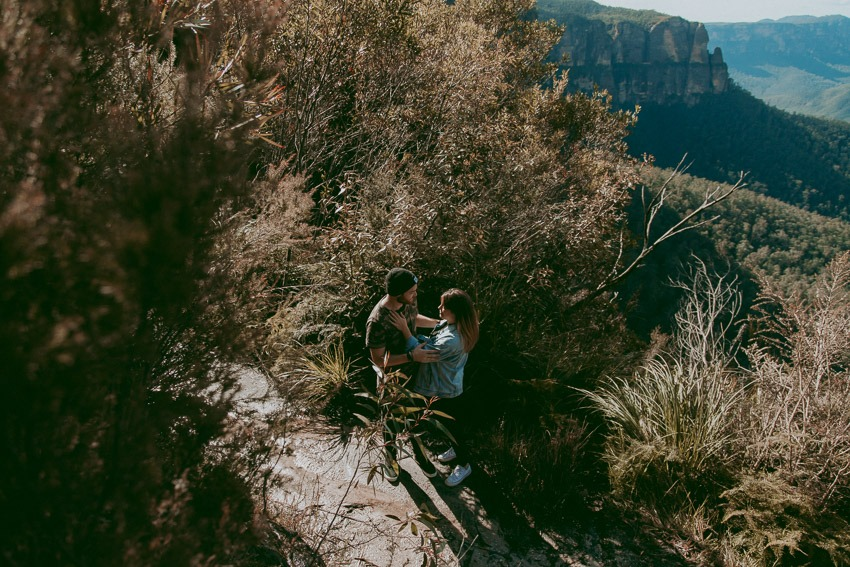 Blue Mountains Engagement Photos - Tailored Fit Photography-0002
