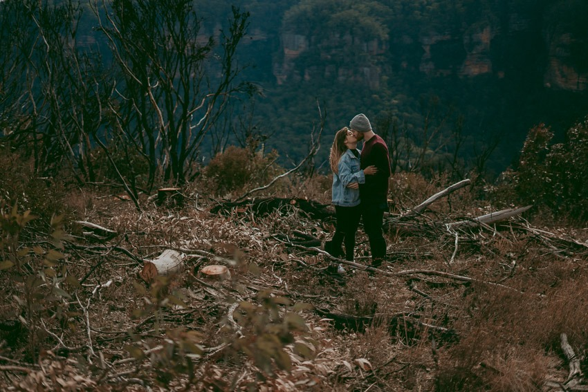 Blue Mountains Engagement Photos - Tailored Fit Photography-0077