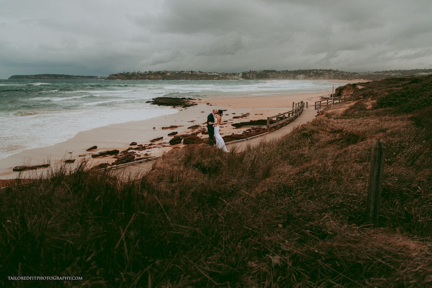 cutest first look photos on the beach - long reef golf club wedding photos by australia wedding photographers tailored fit photography, hillsong wedding - stormy beach wedding photoshoot - Kieran & Tonia's Beach Wedding @ Long Reef Golf Club in Collaroy was brilliant. Love these two incredible people, can't wait to see the places they go together! Check out https://tailoredfitphotography.com for more wedding photography!