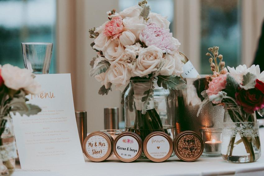 beach wedding stationary menu flowers boquet ideas custom wedding candle wedding favour ideas from etsy