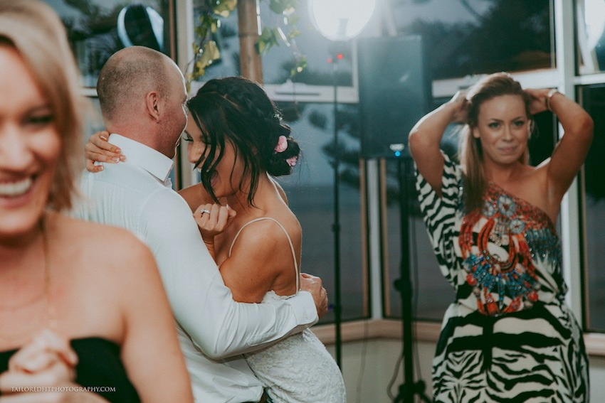 first dance photos at beach wedding reception at long reef golf club collaroy