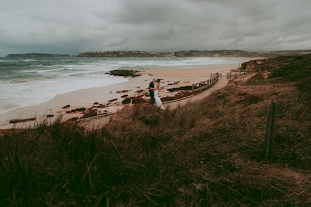 Beach Wedding Photos - Long Reef Golf Club Wedding