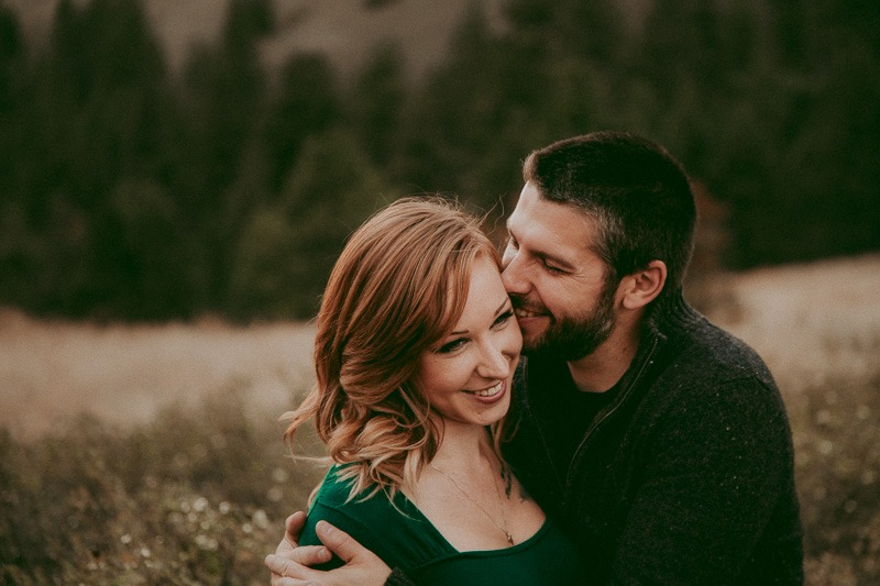 adventure engagement shoot - adventurous as they come, Kylee & Dustin planned a whole Dirtbike engagement photo session in Canada! - outdoor engagement adventure by Tailored Fit Photography
