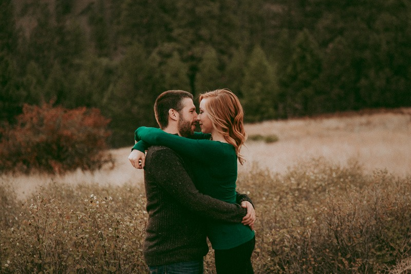 non-posed engagement photos - adventure engagement shoot - adventurous as they come, Kylee & Dustin planned a whole Dirtbike engagement photo session in Canada! - outdoor engagement adventure by Tailored Fit Photography