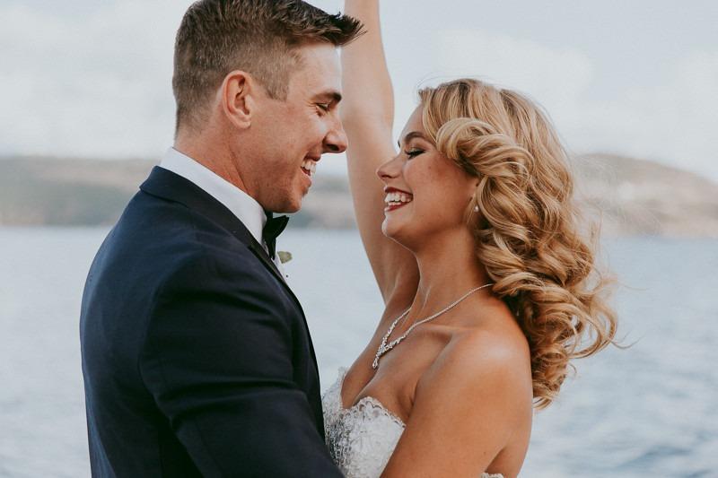 okanagan resort wedding ceremony outdoors in Kelowna BC Canada