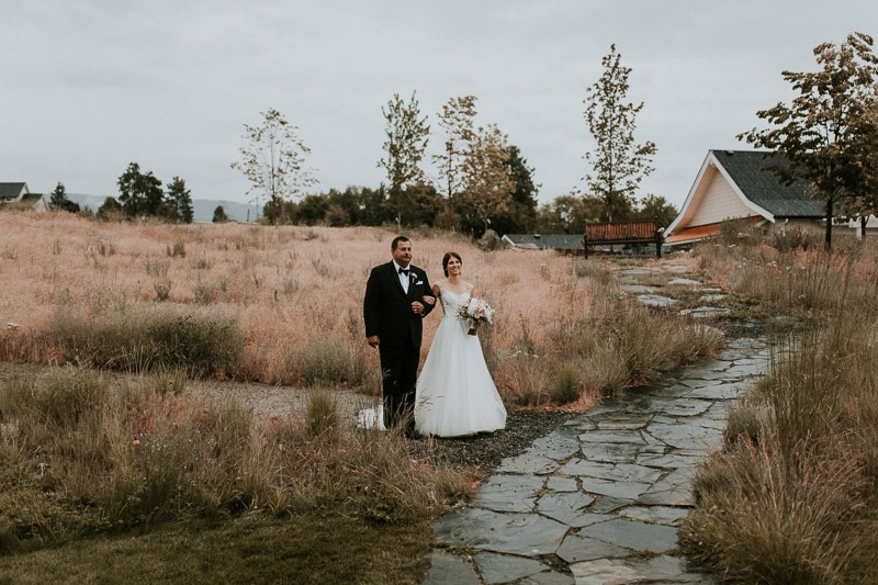 wedding ceremony at sanctuary gardens in west kelowna - 3792 Carrall Rd, West Kelowna, BC V4T