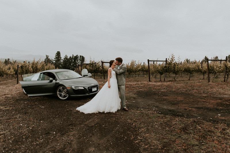 vineyard photos at wedding reception at tantalus winery - 1670 DeHart Rd, Kelowna, BC V1W 4N6