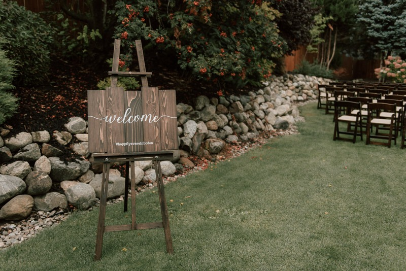 Durali Villa Vernon Wedding - L&T's Enchanted Rainy Day Wedding