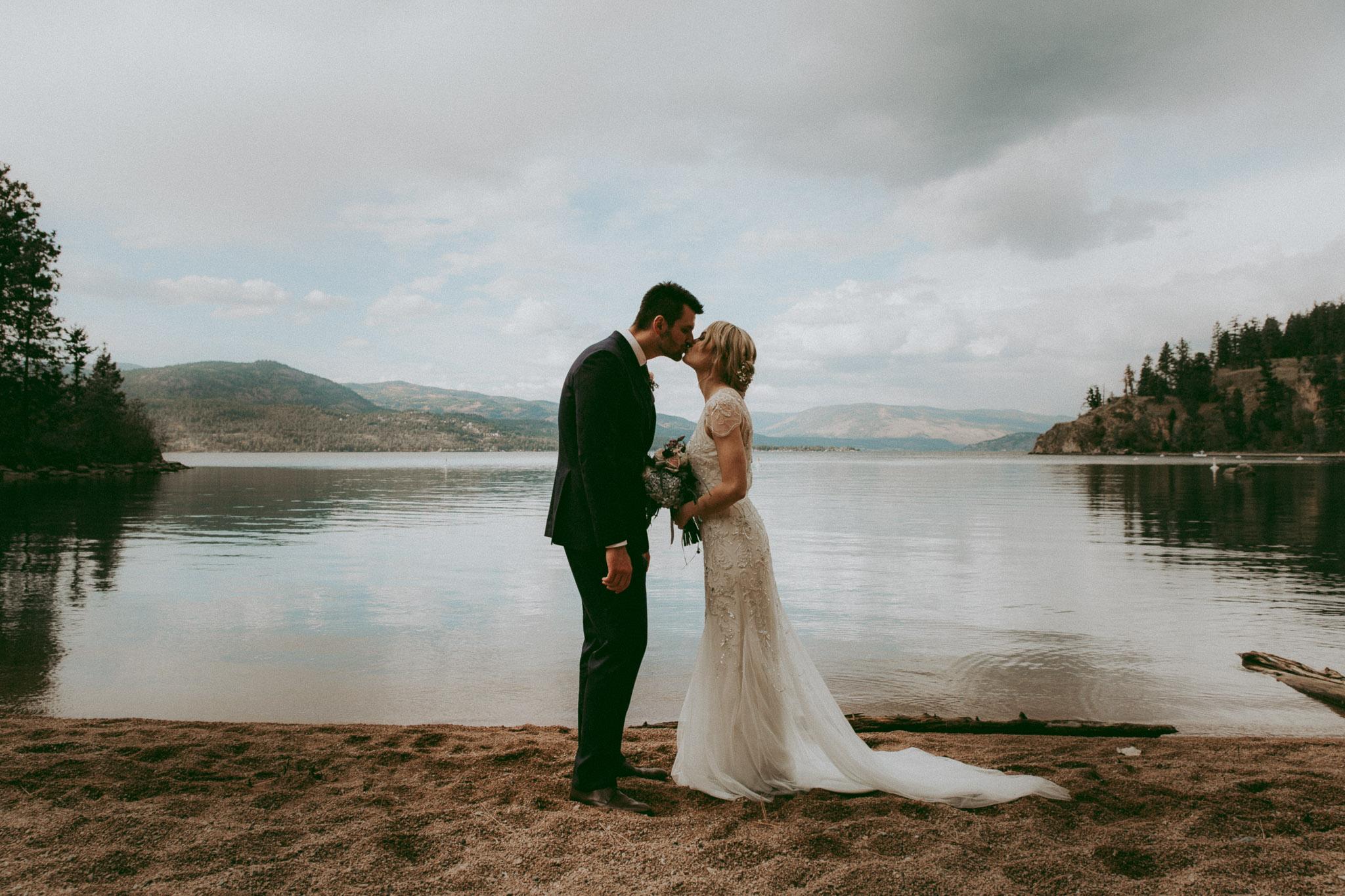 Ellison Lake Wedding - Vernon Wedding Photos
