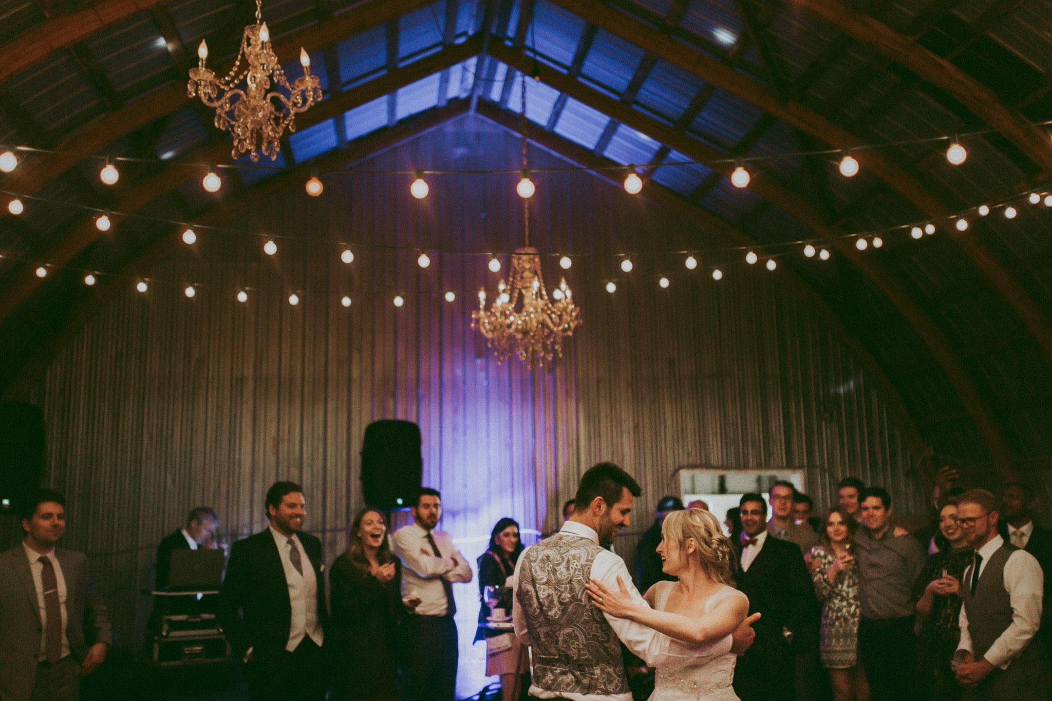 Durali Villa Wedding - Indoor Barn Reception and Dances