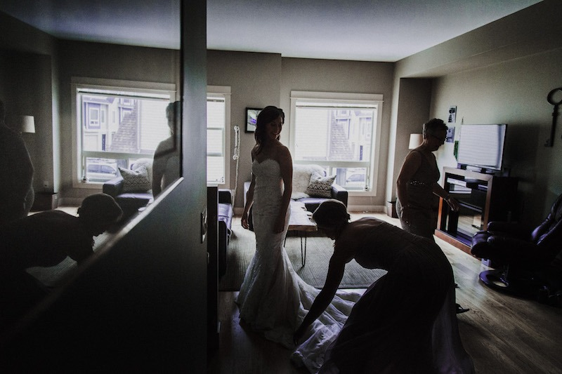 Bridal Prep Photography - Mountain Wedding Photos by Kelowna Wedding Photographer