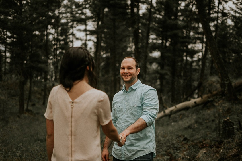 Engagement Photos at Predator Ridge Resort Wedding Venue in Vernon