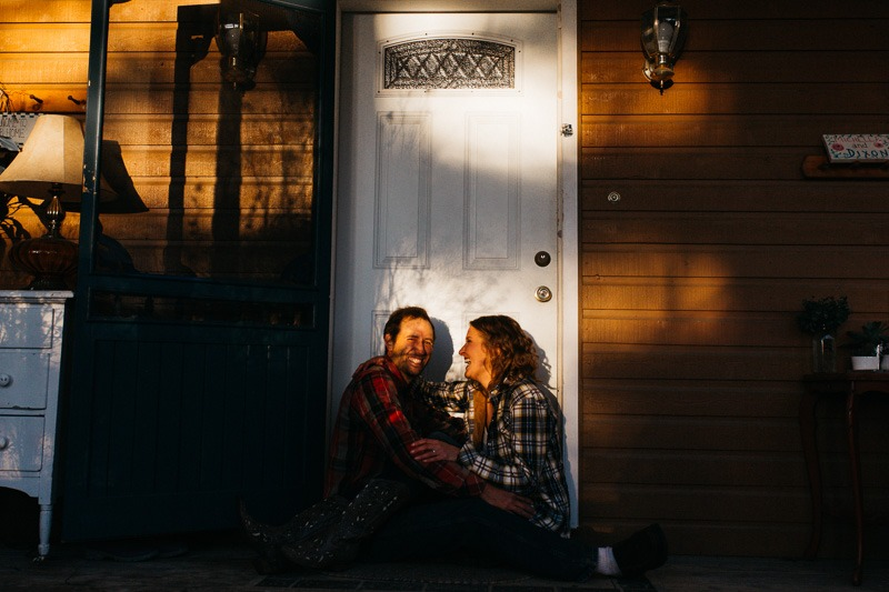 home lifestyle engagement photography