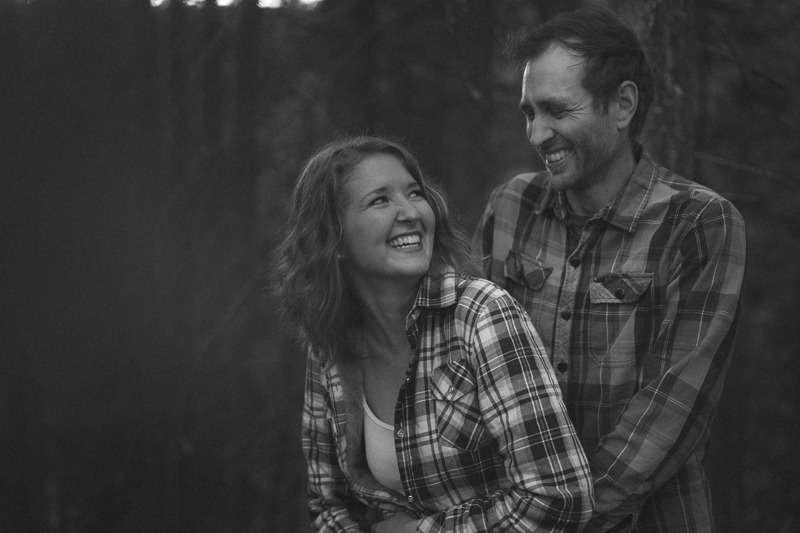 Kelowna Forest Engagement Photos
