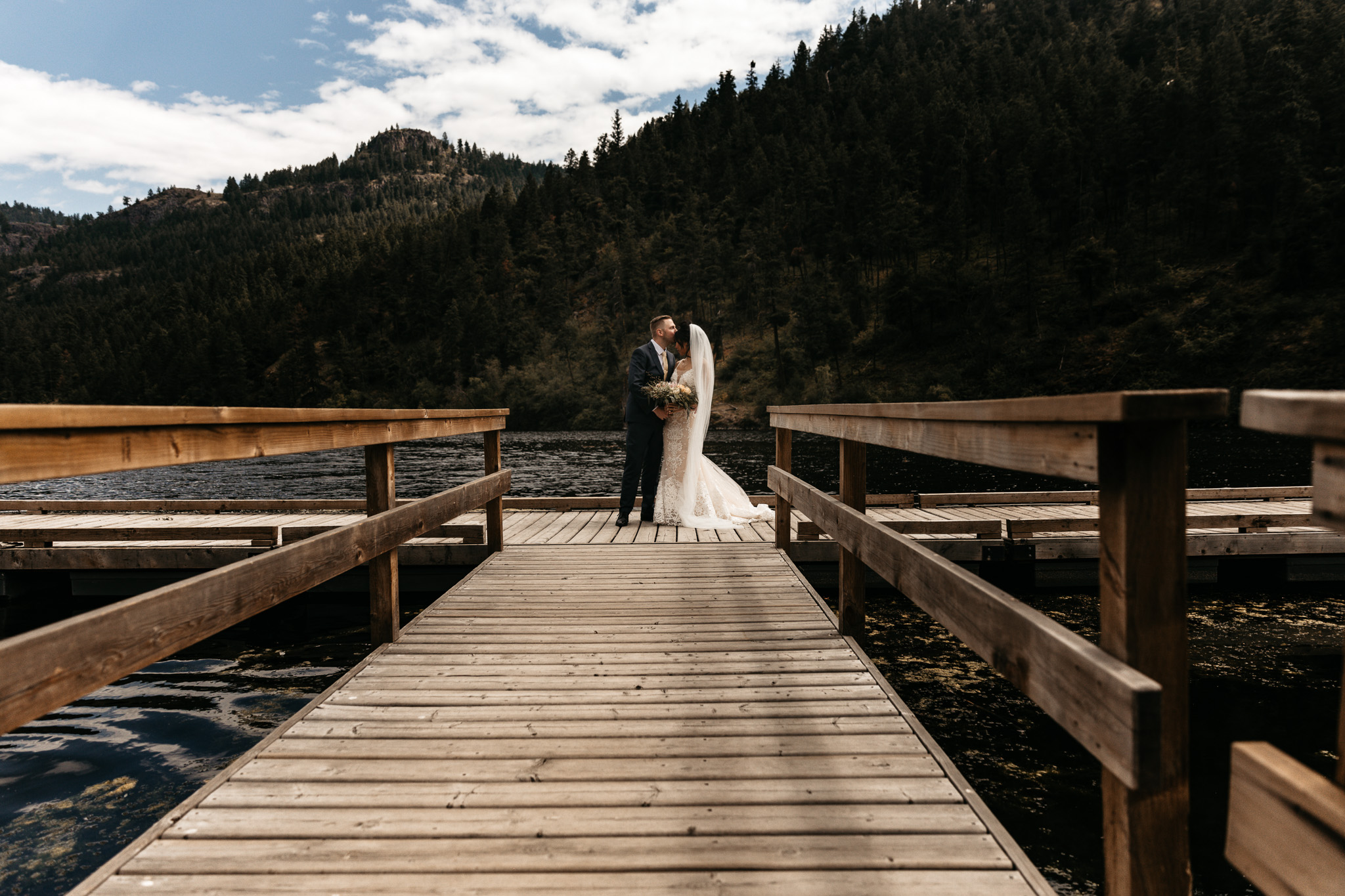 Wedding At Grist Mill in Keremeos: Curtis & Ashley